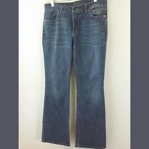 Harley Davidson Medium Wash Bootcut Jeans Sz 8